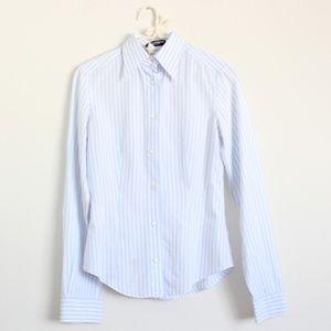 Dolce & Gabbana Pinstripe Shirt Blouse Button Down